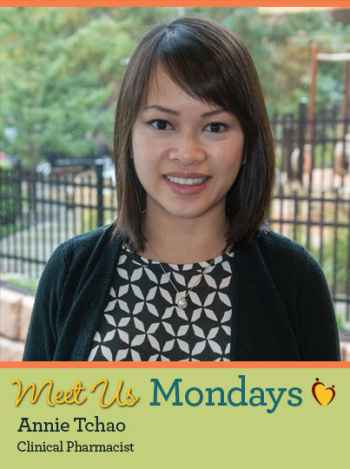 Meet Us Monday - Annie Tchao, Clinical Pharmacist