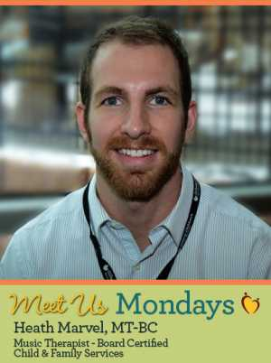 Meet Us Monday – Heath Marvel, Music Therapist