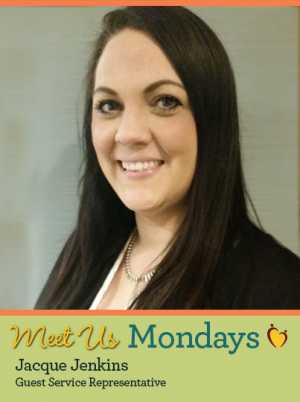 Meet Us Monday - Jacque Jenkins, Guest Services