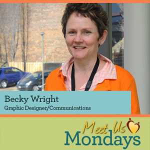 Becky Wright, Graphic Designer