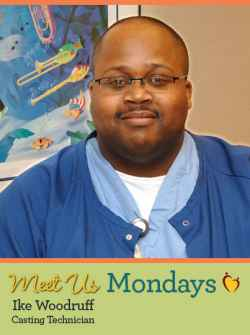 Ike Woodruff is an ortho technician in the casting room at Gillette Children's Specialty Healthcare.