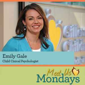 Emily Gale, Child Clinical Psychologist
