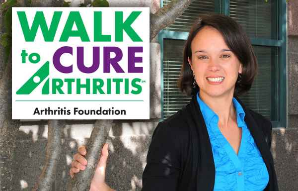 Katie Wilkins, a Gillette physical therapist, is inspired by her patients, who successfully manage their juvenile arthritis.