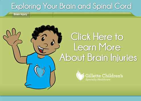 Exploring Your Brain and Spinal Cord, click here to learn more about brain injuries