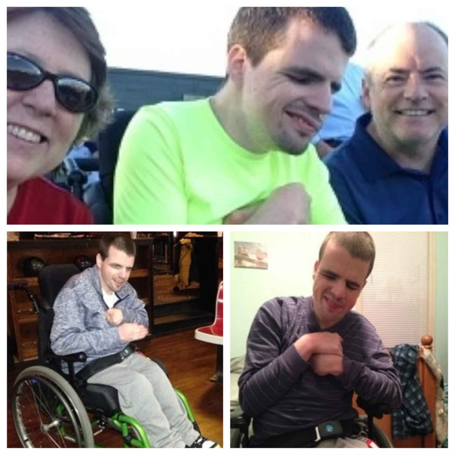 collage of Gillette patient Jason