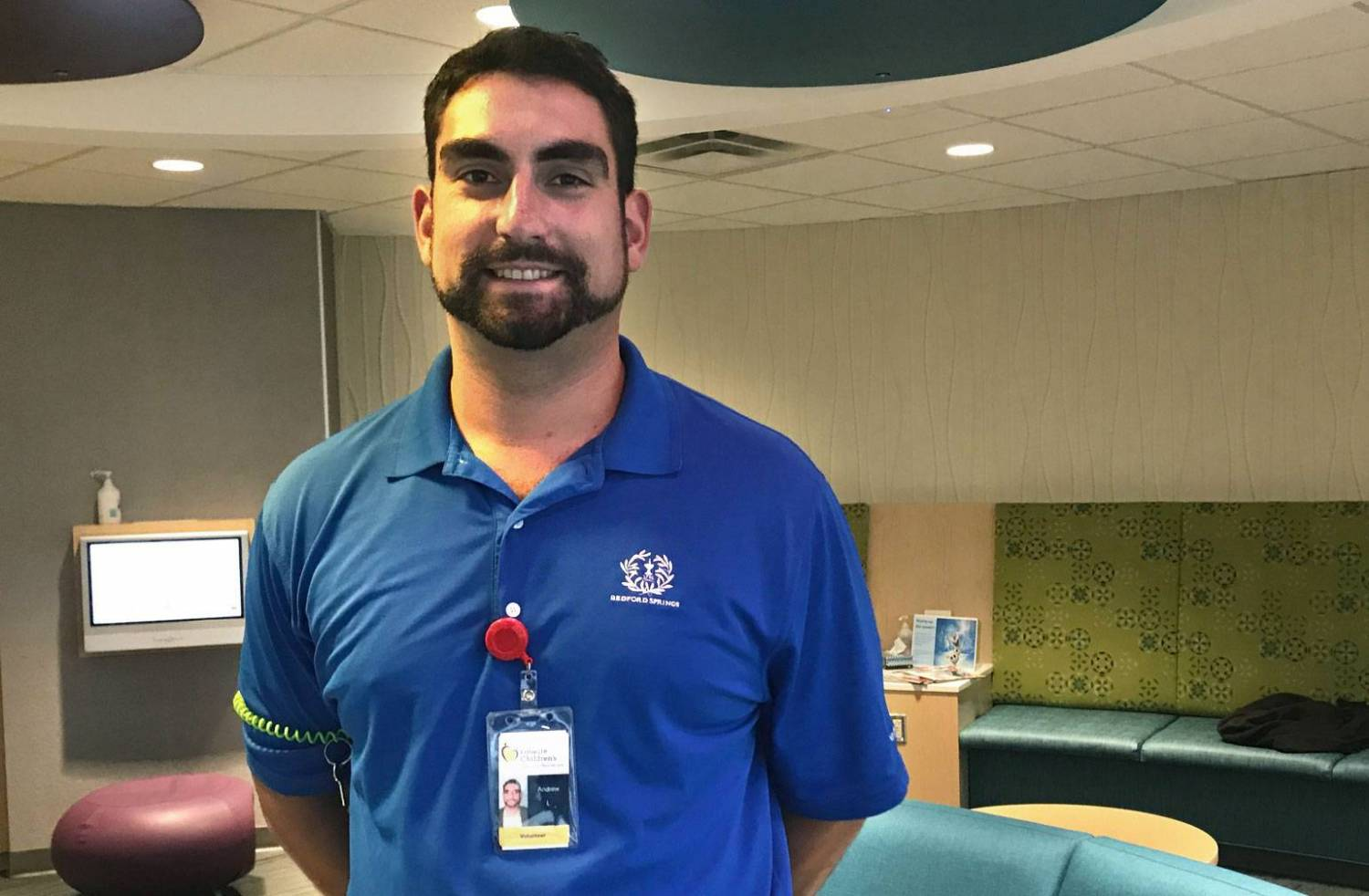 Andrew has been volunteering at Gillette Children's Specialty Healthcare since February 2017.