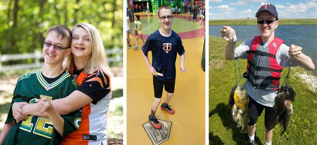 While recovering from his surgeries, Connor fell in love with sports.
