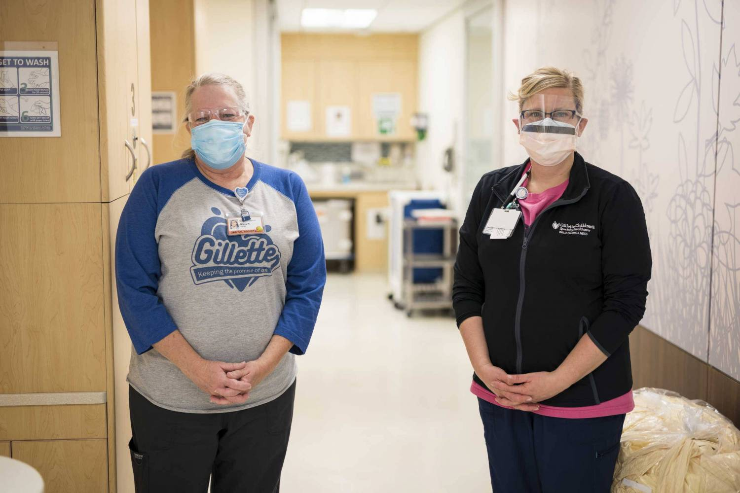 Gillette dental assistants Missy Ness and Cari Fiscus are very experienced in helping patients who have disabilities receive expert dental care.