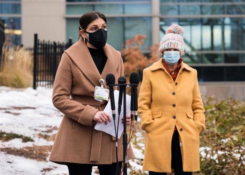 The Gillette Associate Medical Director of Pediatrics, Madeleine Gagnon, MD joined Senator Amy Klobuchar to talk about the importance of getting an influenza vaccine.