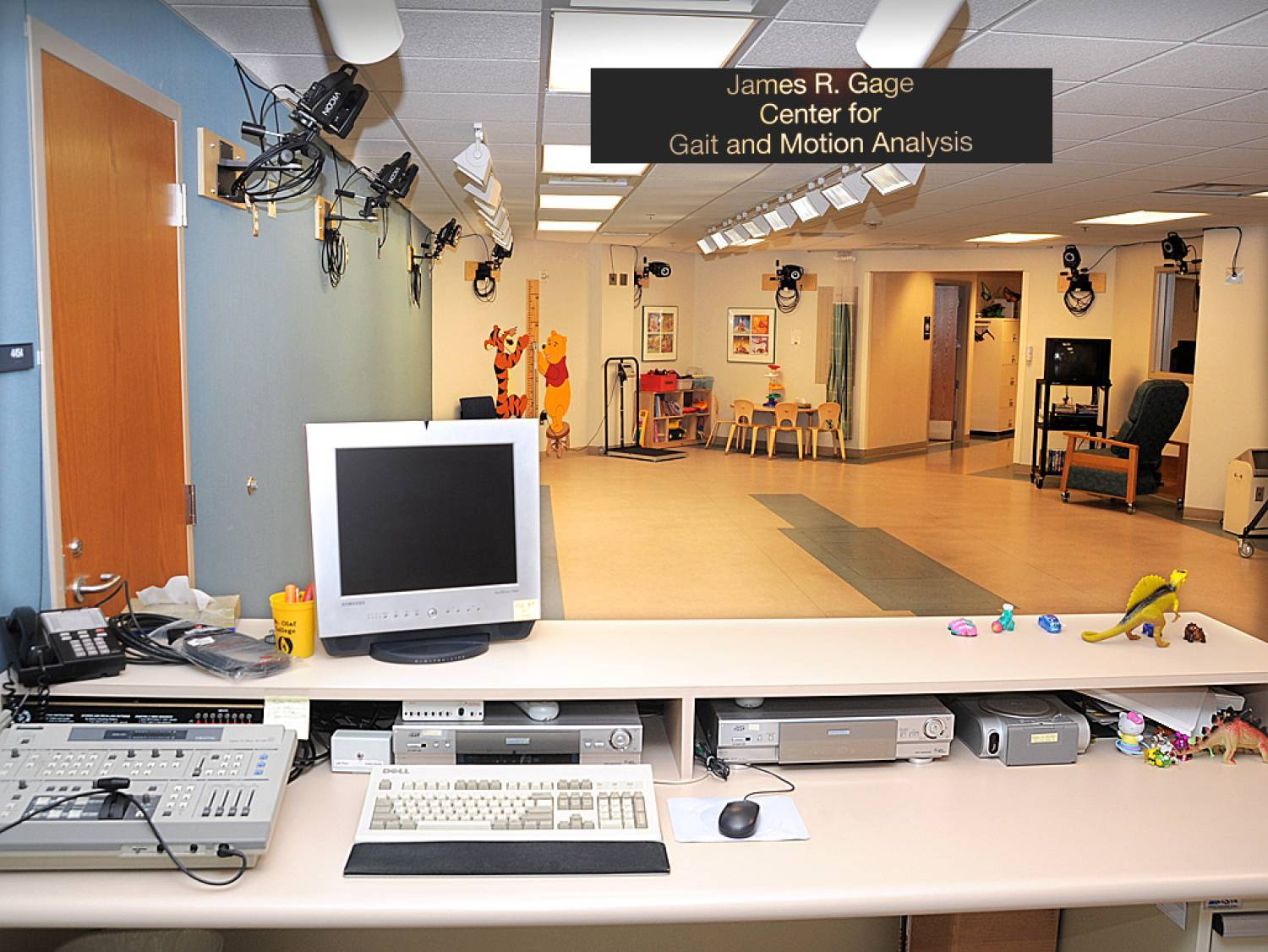 The James R. Gage Gait and Motion Analysis Lab is one of the busiest centers of its kind in the world.